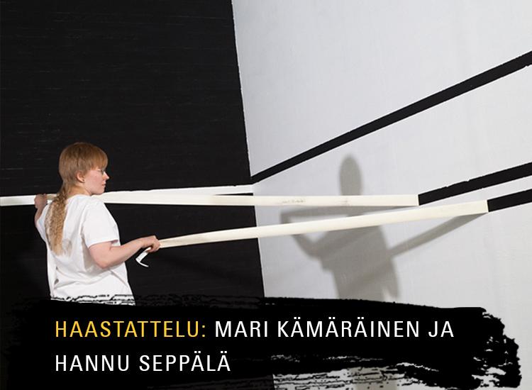 Mari Kämäräinen ja Hannu Seppälä